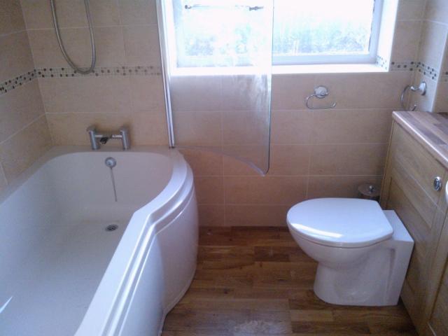 Vanity Bathroom Installation – Taunton