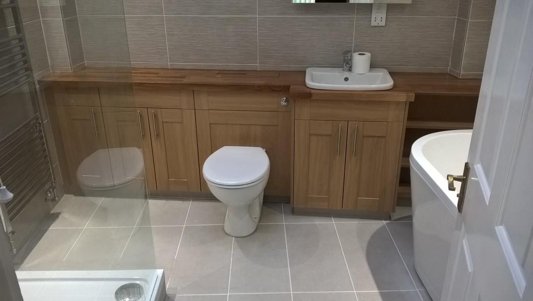 Vanity Bathroom Installation – Halse