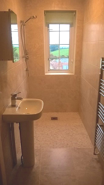 Cloakroom to Wetroom Conversion – Sampford Arundel