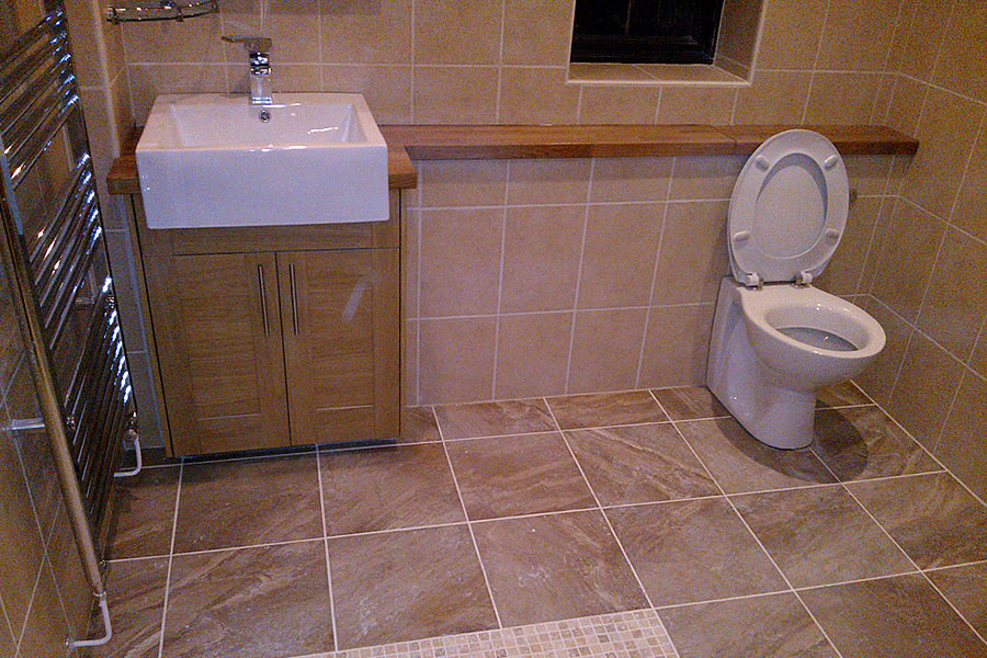 Wetroom installer covering Taunton, Bridgwater, Wellington Somerset
